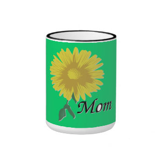 Yellow Daisy - Ringer Mug