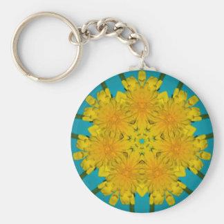 Yellow Dandelion Nov 2012 Key Ring