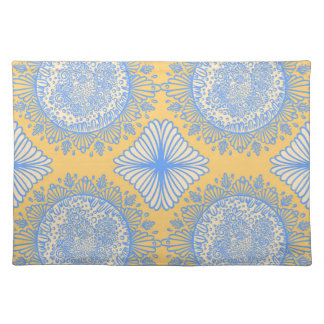 Yellow dawn placemat