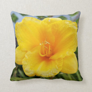 Yellow Daylily Pillow