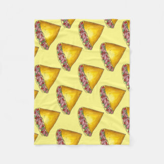 Yellow Denver Omelet Egg Omelette Foodie Blanket
