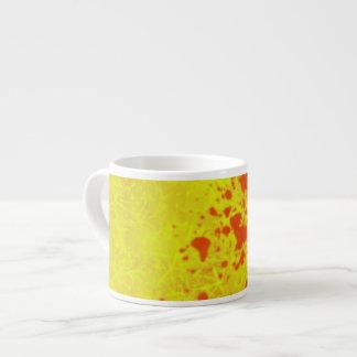 yellow designer expresso mug espresso mug