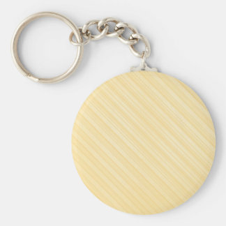 yellow diagonal stripes keychain
