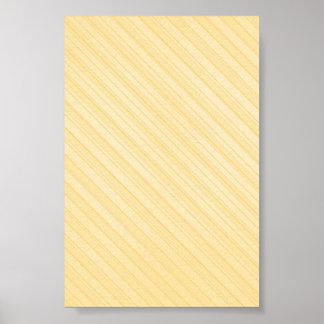 yellow diagonal stripes print