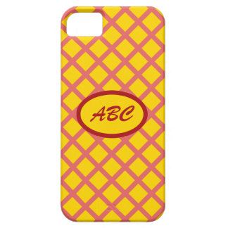 Yellow Diamond Barely There Case iPhone 5 Cover