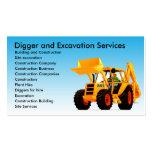 Yellow Digger Excavator