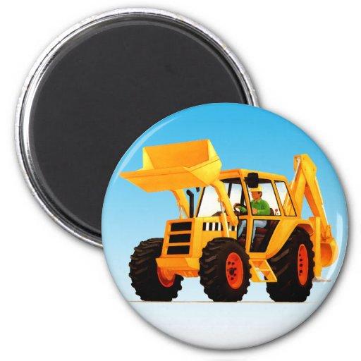 Yellow Digger Magnet