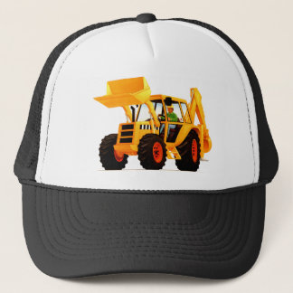 Yellow Digger Trucker Hat