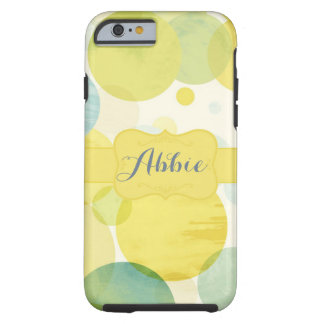 Yellow dot tough iPhone 6 case