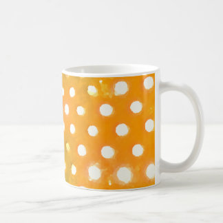 Yellow Dots Mug