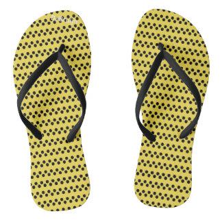 Yellow Dots Thongs