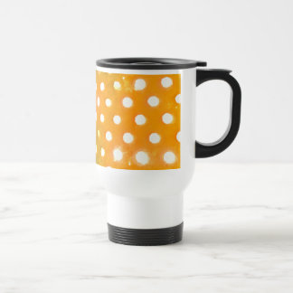 Yellow Dots Travel Mug