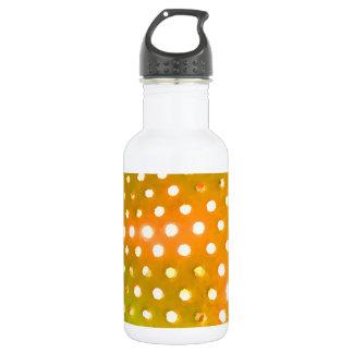 Yellow Dots Water Bottle