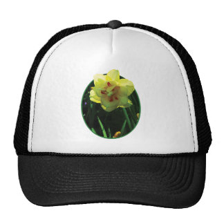 Yellow Double Daffodil Hat