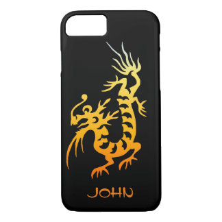 Yellow Dragon iPhone 7 Case