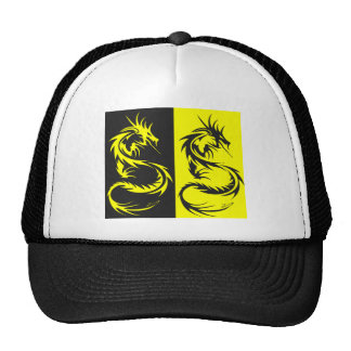 Yellow Dragons Trucker Hat