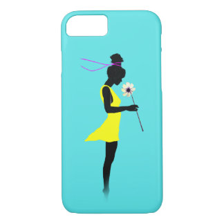 Yellow Dress iPhone 8/7 Case