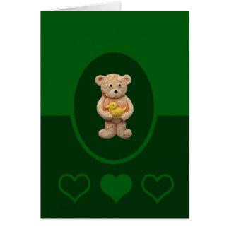 Yellow Duck Greeting Card