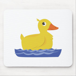 Yellow Duck Mouse Pad