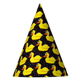 Yellow Duck Party Hats