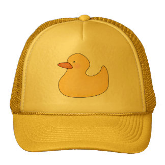 Yellow Duckie T-shirts and Gifts Trucker Hats