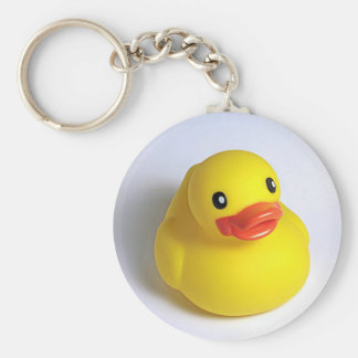 Yellow Ducky Key Chains