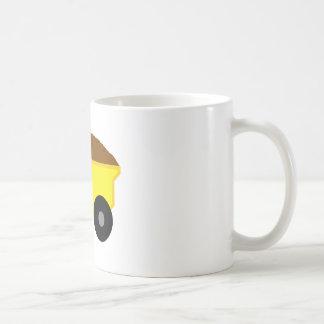 Yellow Dump Truck Mugs