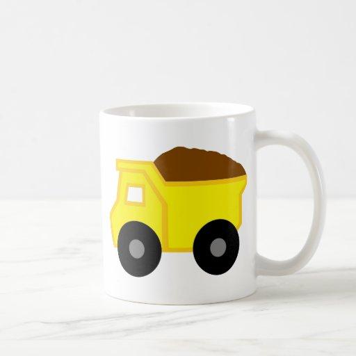 Yellow Dump Truck Mug