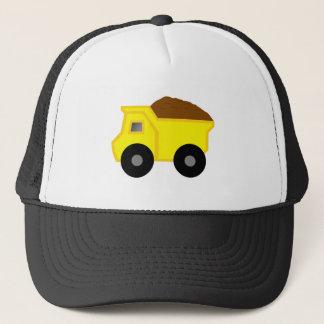 Yellow Dump Truck Trucker Hat