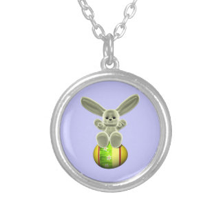 Yellow Easter Bunny Jewelry