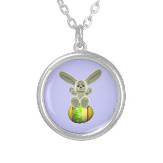 Yellow Easter Bunny Jewelry