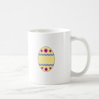 Yellow Easter Egg Coffee Mugs