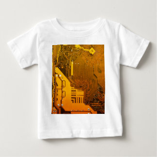 yellow electronic circuit board.JPG Baby T-Shirt