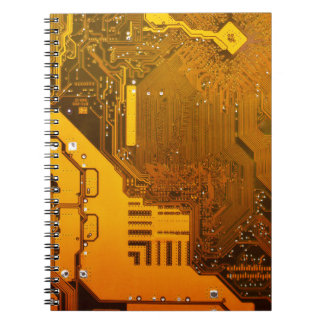 yellow electronic circuit board.JPG Notebook