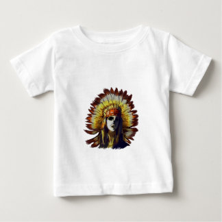 Yellow Feather Baby T-Shirt