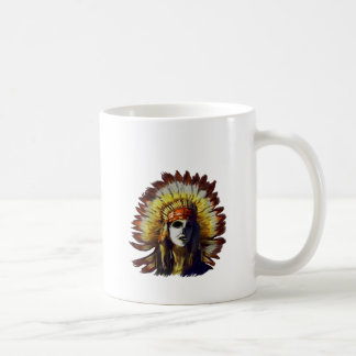 Yellow Feather Coffee Mug