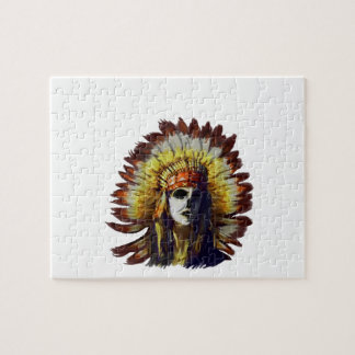 Yellow Feather Jigsaw Puzzle