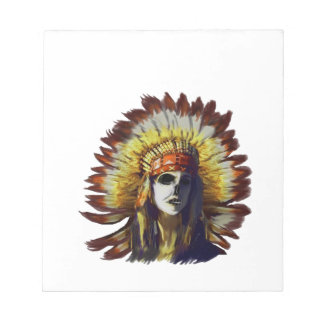 Yellow Feather Notepad