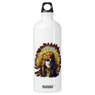 Yellow Feather SIGG Traveller 1.0L Water Bottle
