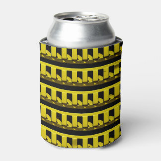 Yellow Fence Can Cooler