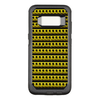 Yellow Fence OtterBox Commuter Samsung Galaxy S8 Case