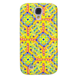 Yellow Festival Pattern Galaxy S4 Cover