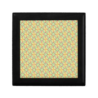 Yellow Festival Pattern Gift Box