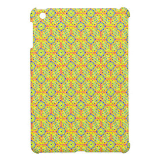 Yellow Festival Pattern iPad Mini Cases
