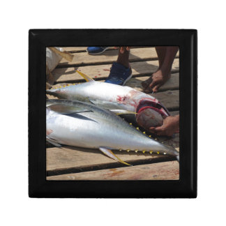 yellow fins tuna gift box
