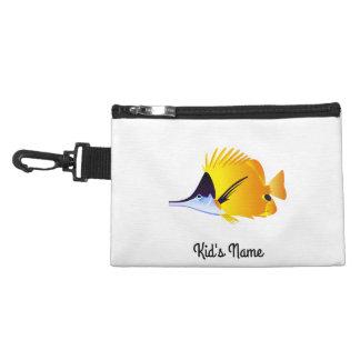 Yellow fish accessory bag