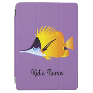 Yellow fish iPad air cover
