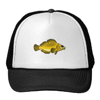 Yellow Fish Mesh Hat