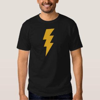Yellow Flash Lightning Bolt Shirts