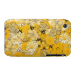 Yellow Floral Case Case-Mate iPhone 3 Cases